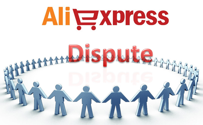 aliexpressでOpen Disputeしました。