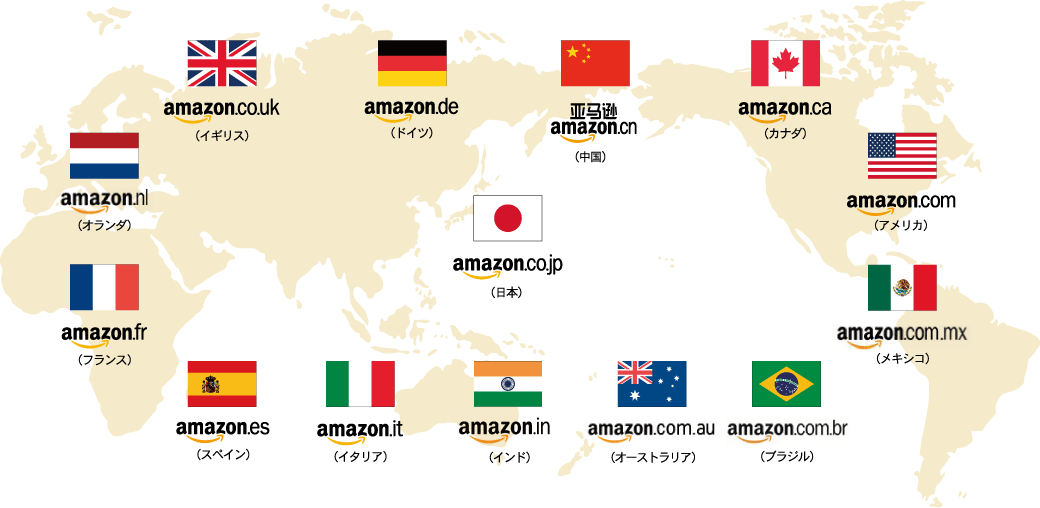aliexpress等の中華ショップと日本のアマゾン