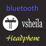 Vsheila Bluetoothは買って損無し。高音質bluetoothヘッドフォン