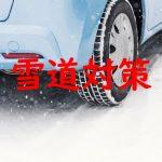 滅多に降らない雪のための雪対策。手軽で評判もよいアイテム。早めの準備が一番